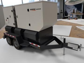 Generac  Portable Generator, Trade Show Model