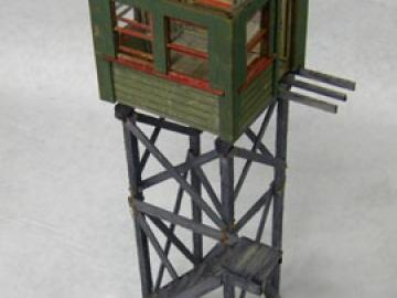 """NYO&W"" Watchman's Crossing Tower"