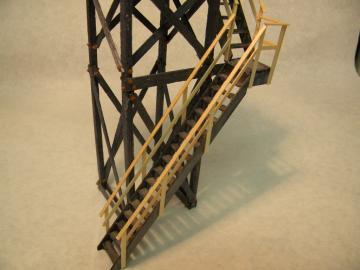 """NYO&W"" Watchman's Crossing Tower"