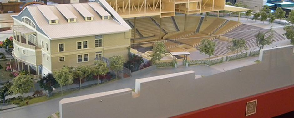 Chautauqua Institution Amphitheater Model