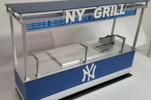 NY Yankee Stadium Grill Cart